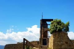 Watch tower castle palafolls