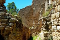 Interior castle of palafolls