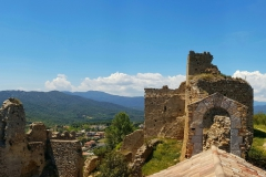 Overview inside castle