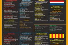 Texas Blanes Menu Dutch Catalan